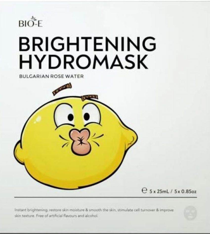 Bio-E Brightening Hydromask 肌底焕活滋养面膜 柠檬精面膜5片装