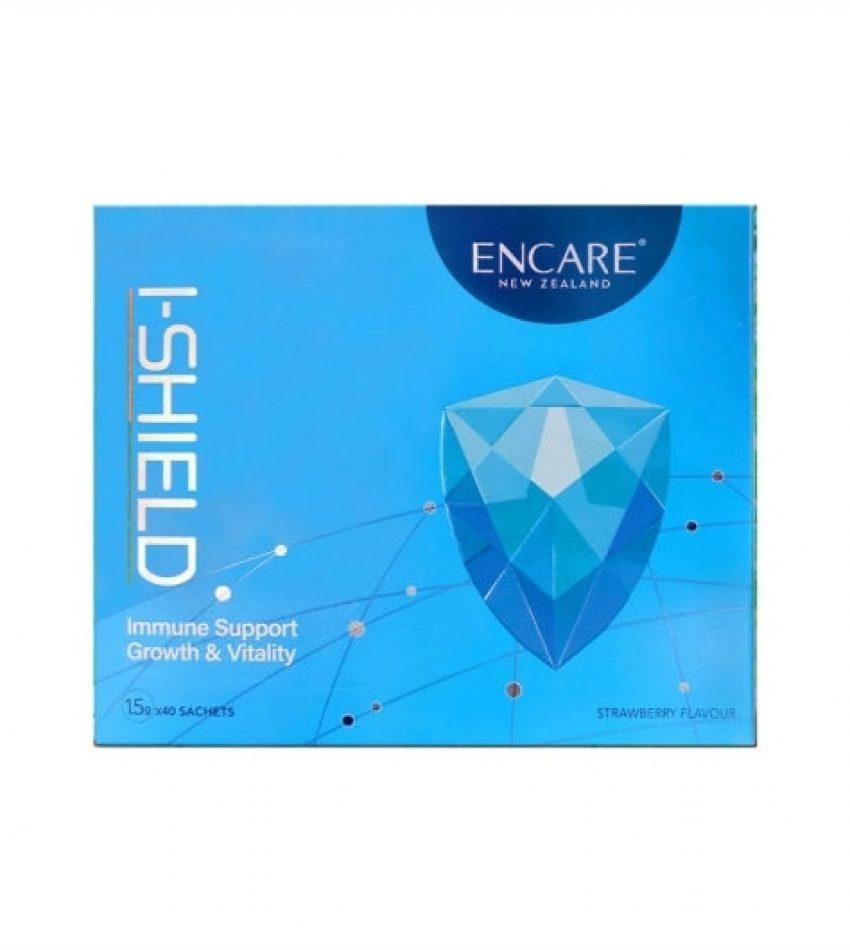 ENCARE Immuneshield 口服活性耳牛球蛋白免疫冲剂 草莓味 儿童版 1岁以上可用 1.5g*40袋(23年到期)