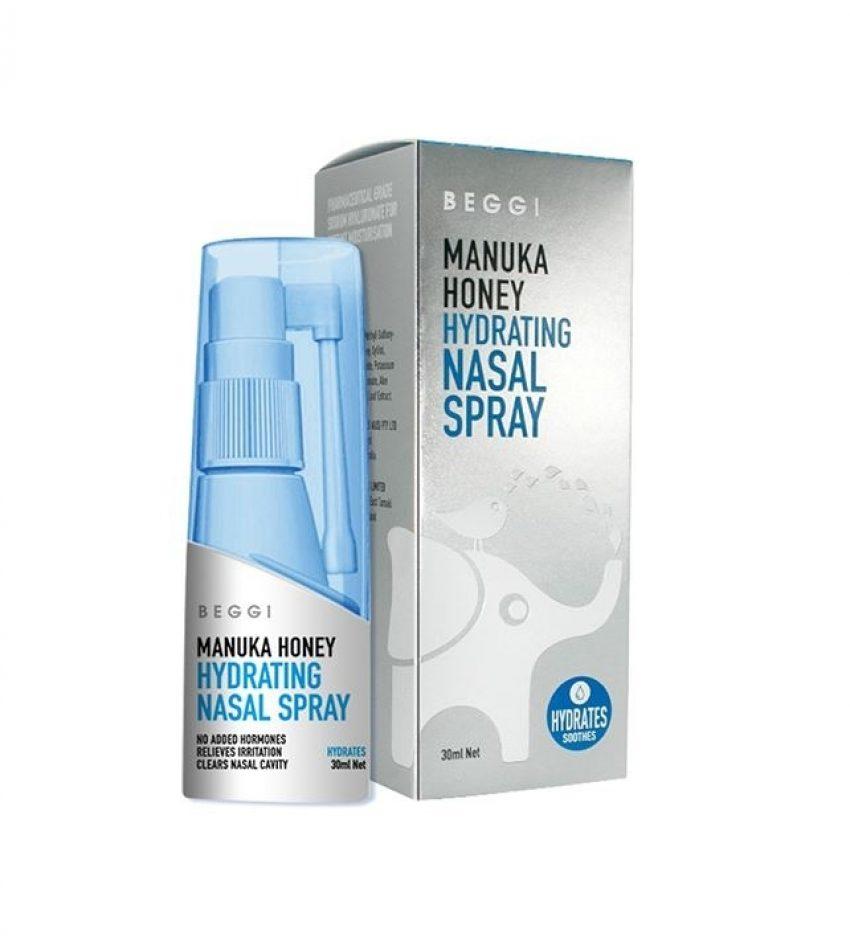 BEGGI 护鼻水 鼻子喷剂鼻赛通气干燥性急性萎缩性鼻问题 Geggi Hydrating Nasal Spray 30ml(买一瓶赠一瓶儿童免洗洗手液)
