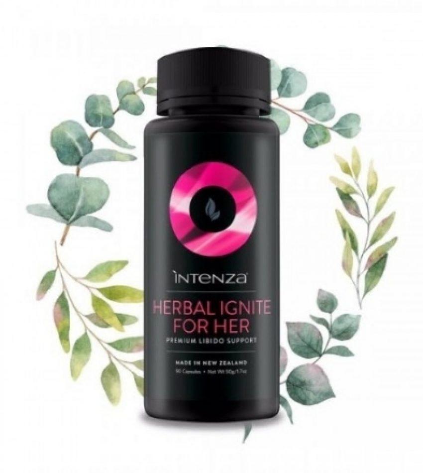 Intenza Herbal Ignite For Her 女士爱给力 90c (平衡荷尔蒙,缓解压力,抗衰老恢复睡眠)
