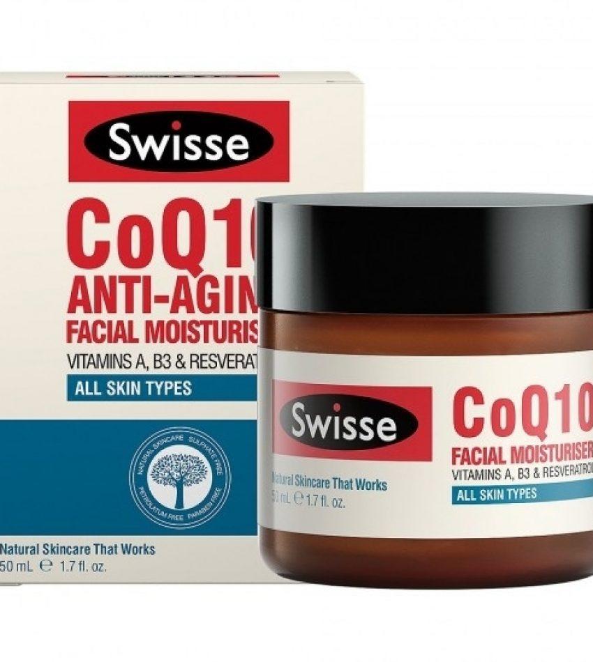 Swisse CoQ10 Anti-aging Facial Moisturiser 辅酶抗衰老补水日霜 50ml 开封后12个月内用完