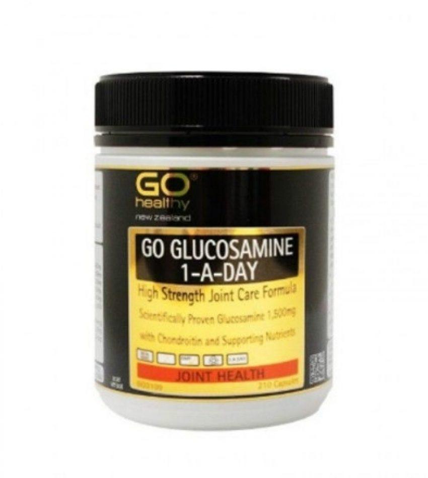 GO Healthy 高之源 氨糖维骨力 1500mg 210粒(针对有病变的各种风湿性关节炎;类风湿性关节炎;骨质增生,滑囊炎;颈椎病)