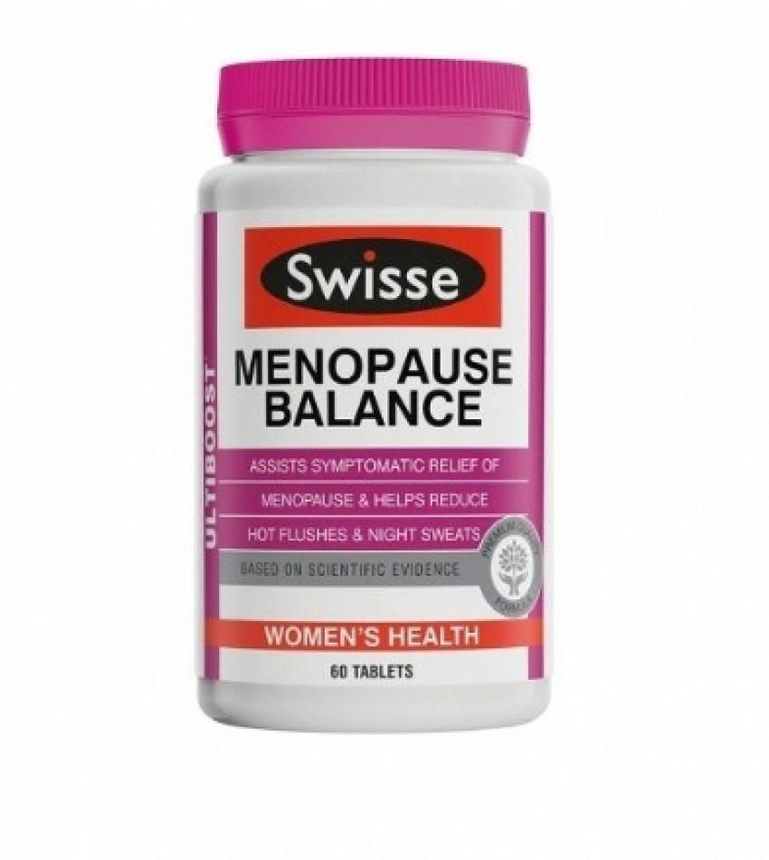 Swisse Menopause Balance 更年期平衡营养素 改善女性更年期症状 60粒