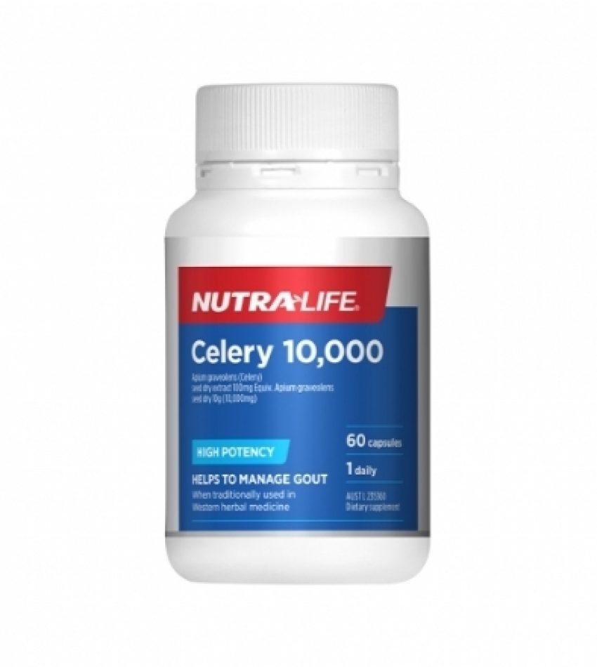 Nutralife纽乐 高含量芹菜籽60粒  CELERY 10000 60c  [新包装]