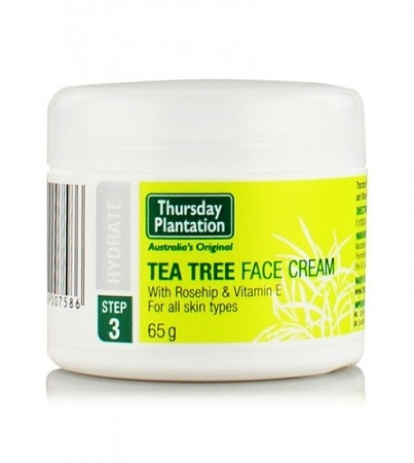 Thursday plantation星期四农庄 茶树面霜 65g Thursday Plantation TEA THREE FACE CREAM 65g