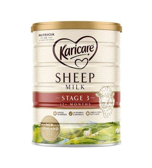 【包邮】可瑞康 Karicare 婴儿绵羊奶粉 3段 900g*3罐(22年12月到期)