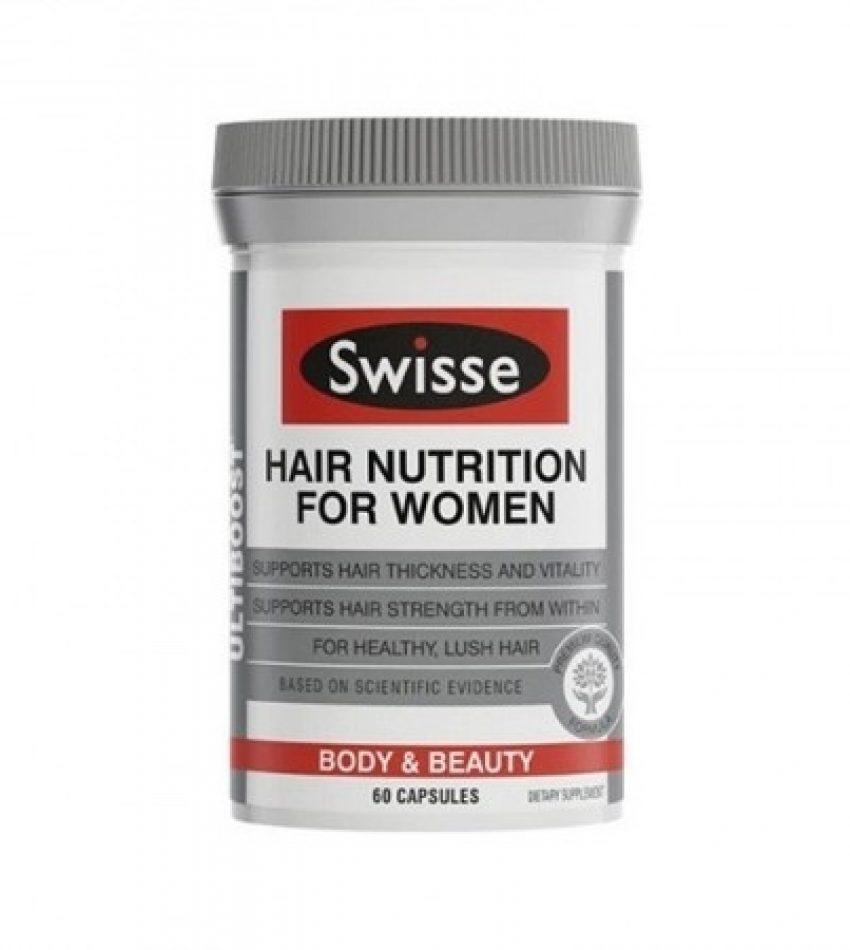 Swisse hair nutrition for women 女士护发营养胶囊60粒