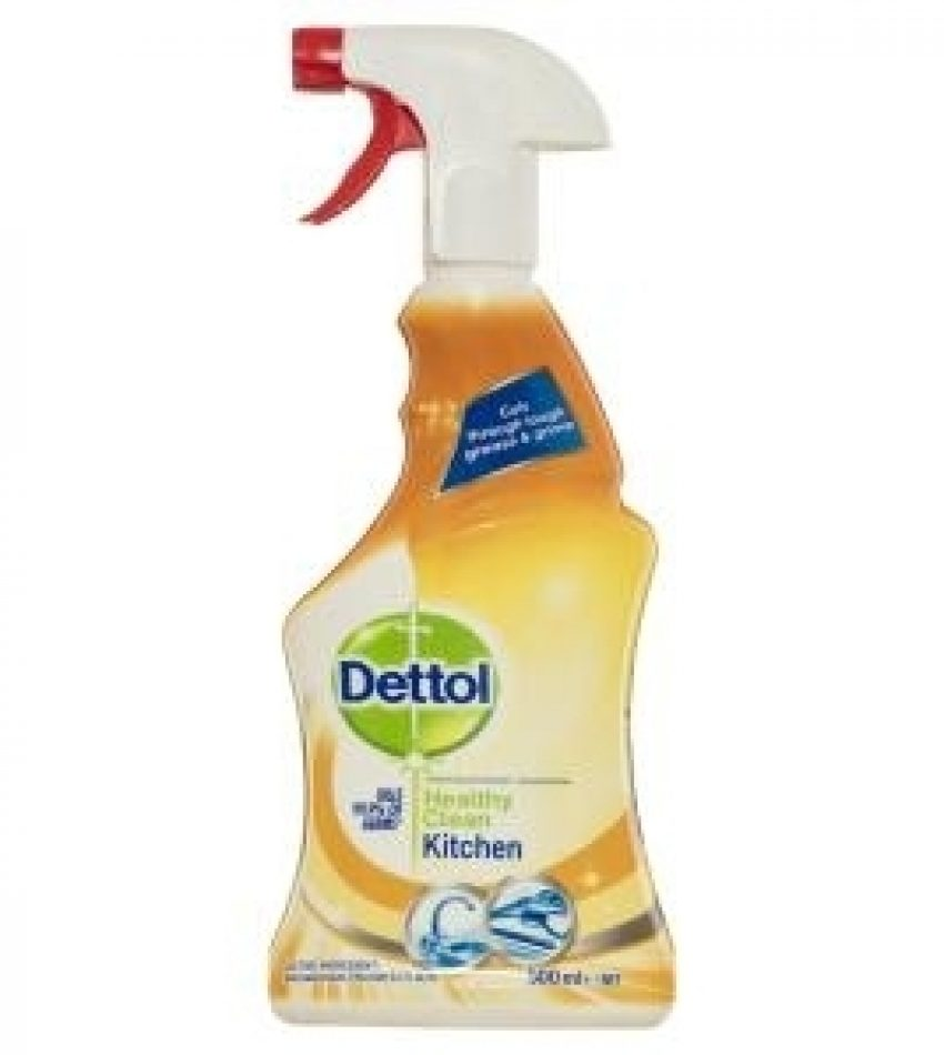 Dettol Healthy Clean Spray Cleaner Antibacterial Kitchen trigger 500ml, 厨房抗菌喷雾清洁剂