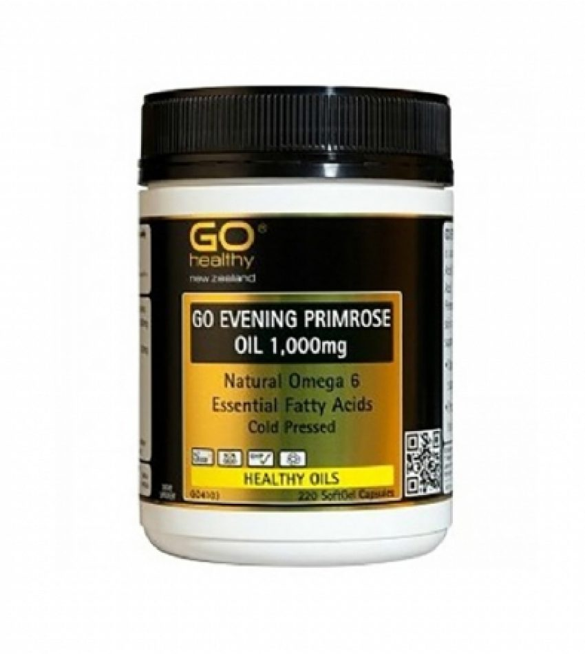 Go Healthy evening primrose oil 1000mg 220c 高之源 月见草胶囊1000mg 220粒