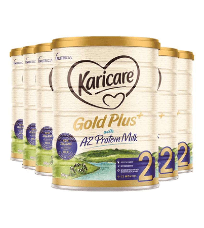 (包邮)Karicare a2可瑞康A2蛋白牛奶粉2段3罐(22年7月到期)