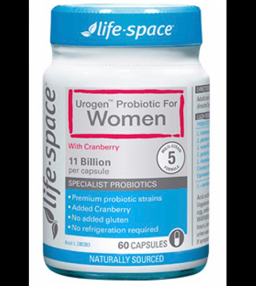 Life Space女性益生菌胶囊60粒 Life Space Women's Microflora Probiotic 60 Caps(23年初到期)