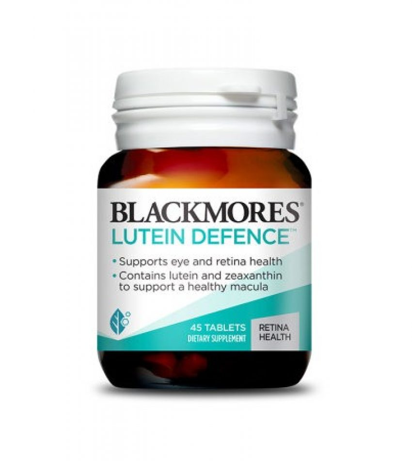Blackmores澳佳宝 叶黄素护眼片 45片 Blackmores Lutein Defence 45Tab