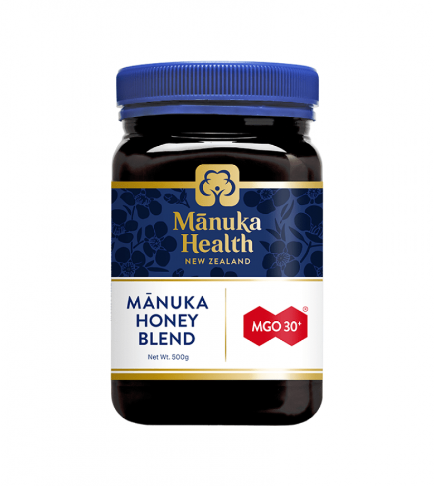 Manuka Health蜜纽康 MGO30+ 混合麦卢卡蜂蜜 500g/1kg Manuka Health MGO30+ Manuka Honey Blend 500g/1kg (500克/1公斤 2种可选)