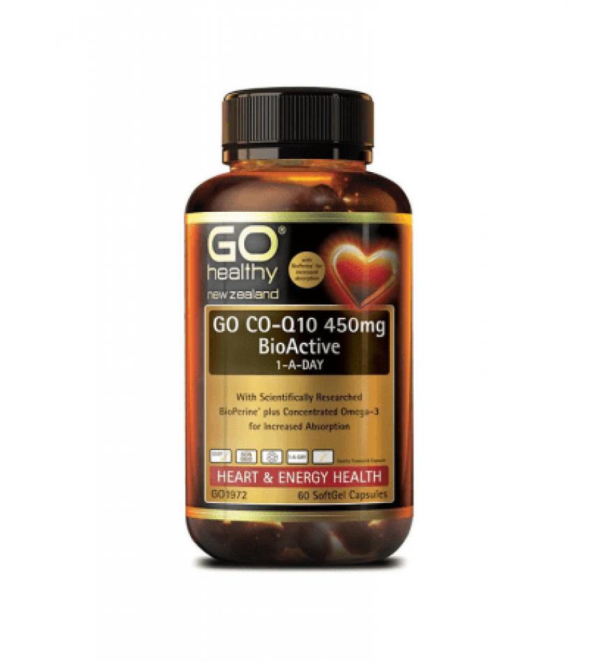 Go Healthy 高之源辅酶Q10护心宝 450mg 60粒