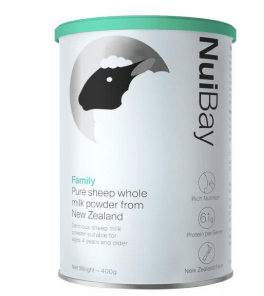 (包邮)NuiBay 纽益倍 全家绵羊奶粉 400g (22年12月到期)1罐/2罐/买3送1 可选