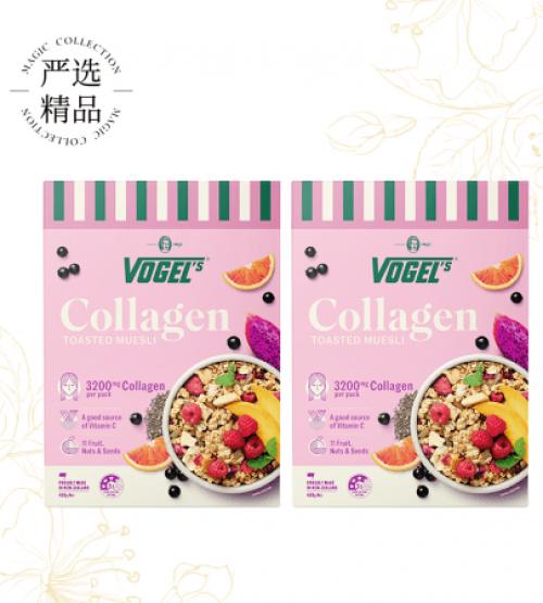Vogel's 沃格尔胶原蛋白即食麦片 400g【两件装包邮】(22年3月到期)