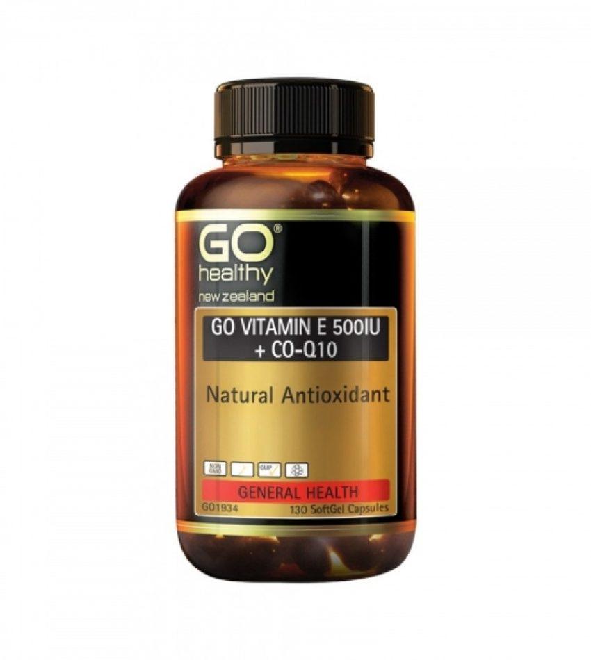 Go Healthy 高之源 维生素E+辅酶Q10胶囊 130粒