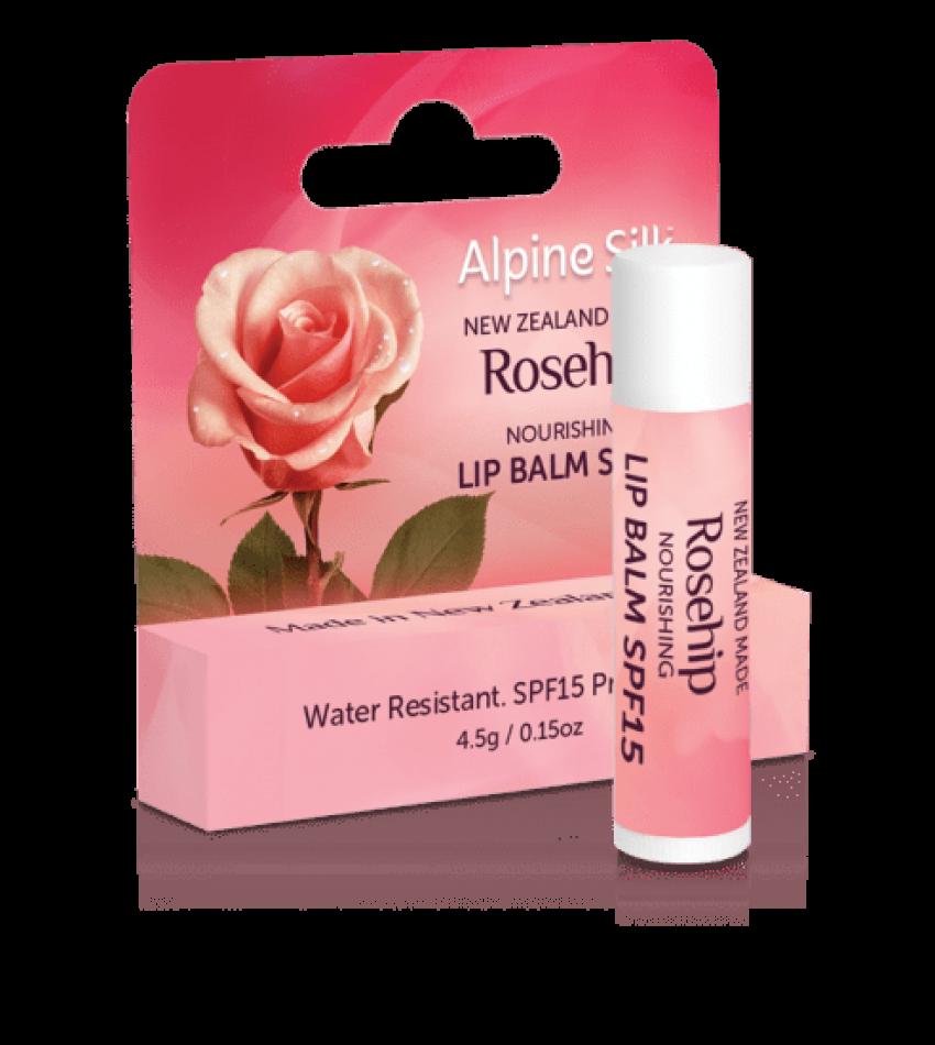 Alpine Silk 玫瑰果防晒唇膏 SPF15 4.5g