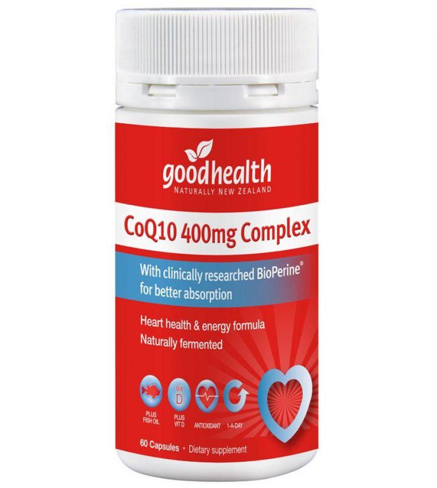Good health 好健康 心脏辅酶Q10 400mg 60c(高含量)(23年4月到期)
