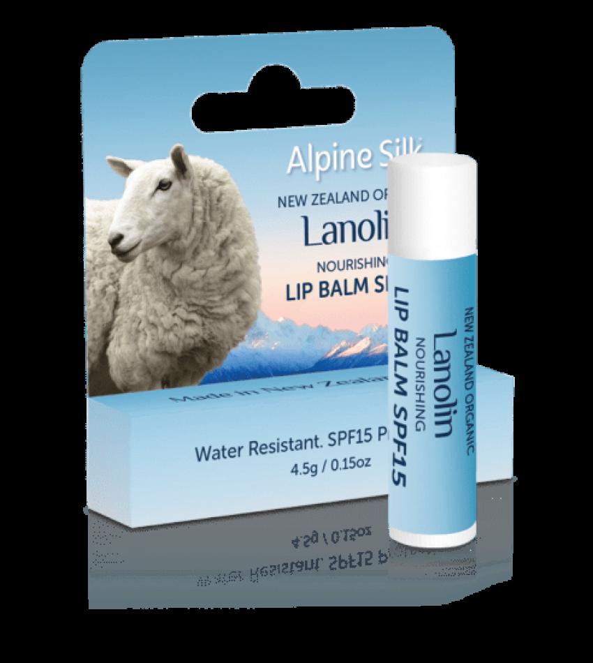 Alpine Silk 绵羊油防晒唇膏 SPF15 4.5g