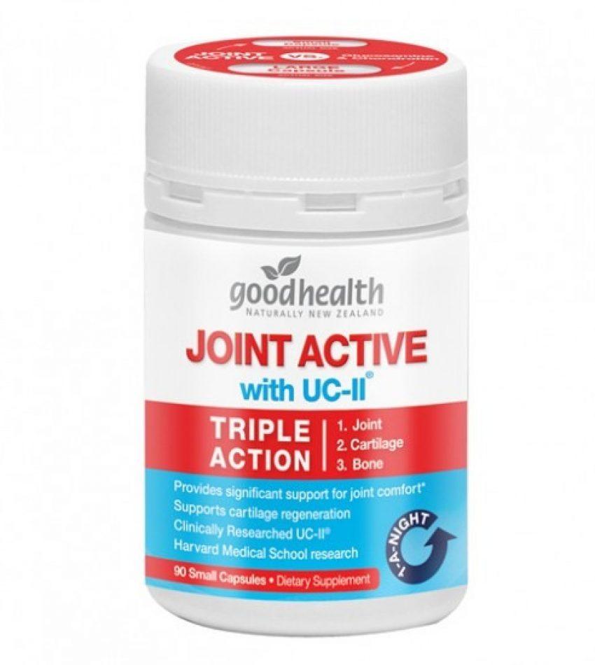 Goodhealth joint active with UC-II 90c 好健康三合一关节灵骨胶原胶囊 90粒(23年10月到期)