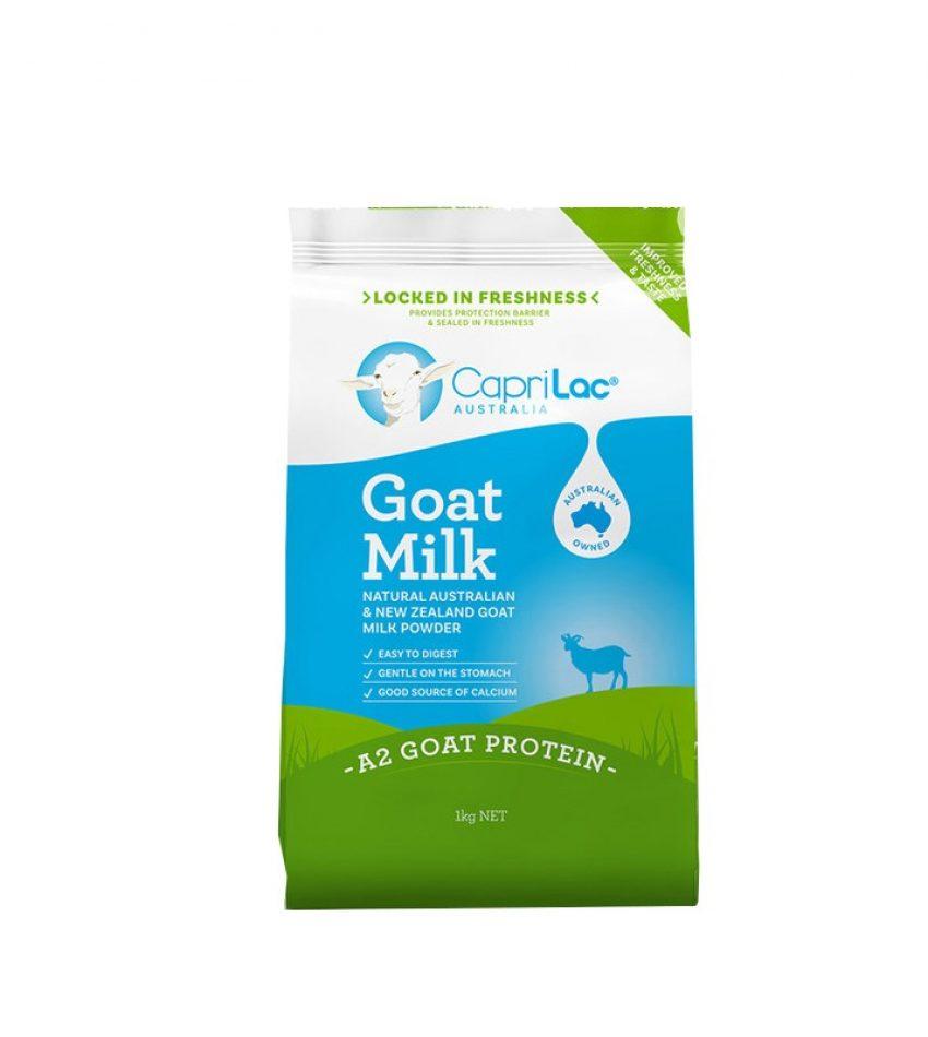 (澳洲直邮包邮)Caprilac Goat 成人高钙羊奶粉 1kg*3袋(23年中到期)