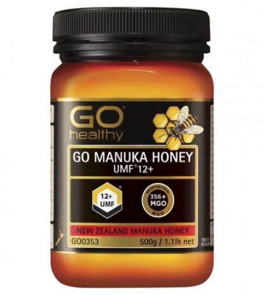 Go Healthy manuka honey UMF12+ (MGO356+) 500g 高之源麦卢卡蜂蜜 UMF12+ (MGO356+) 500g