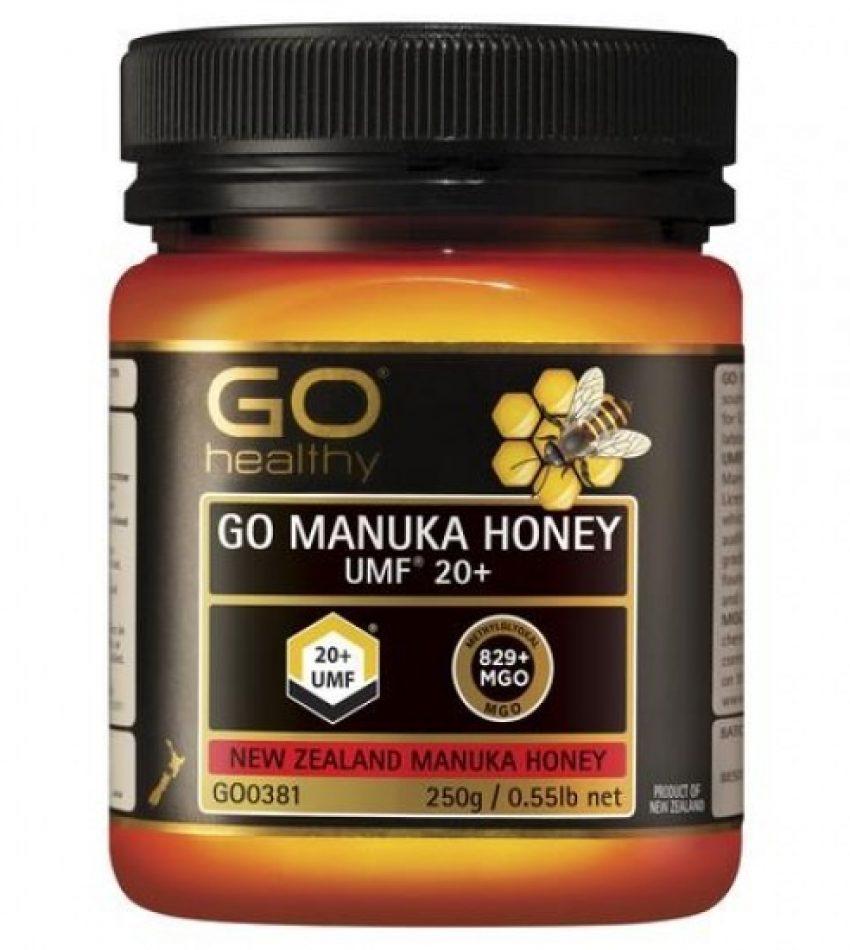 Go Healthy manuka honey UMF20+ (MGO829+) 250g 高之源麦卢卡蜂蜜 UMF20+ (MGO829+) 250g