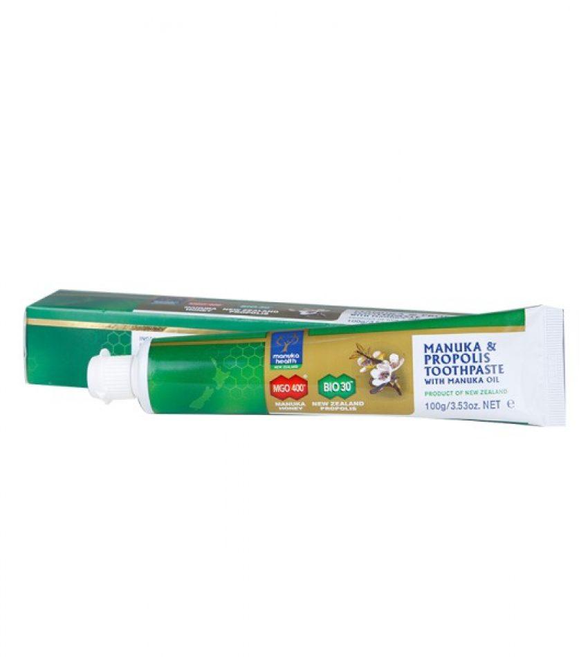 Manuka Health 蜜纽康 蜂胶蜂蜜 麦卢卡油 牙膏 100g