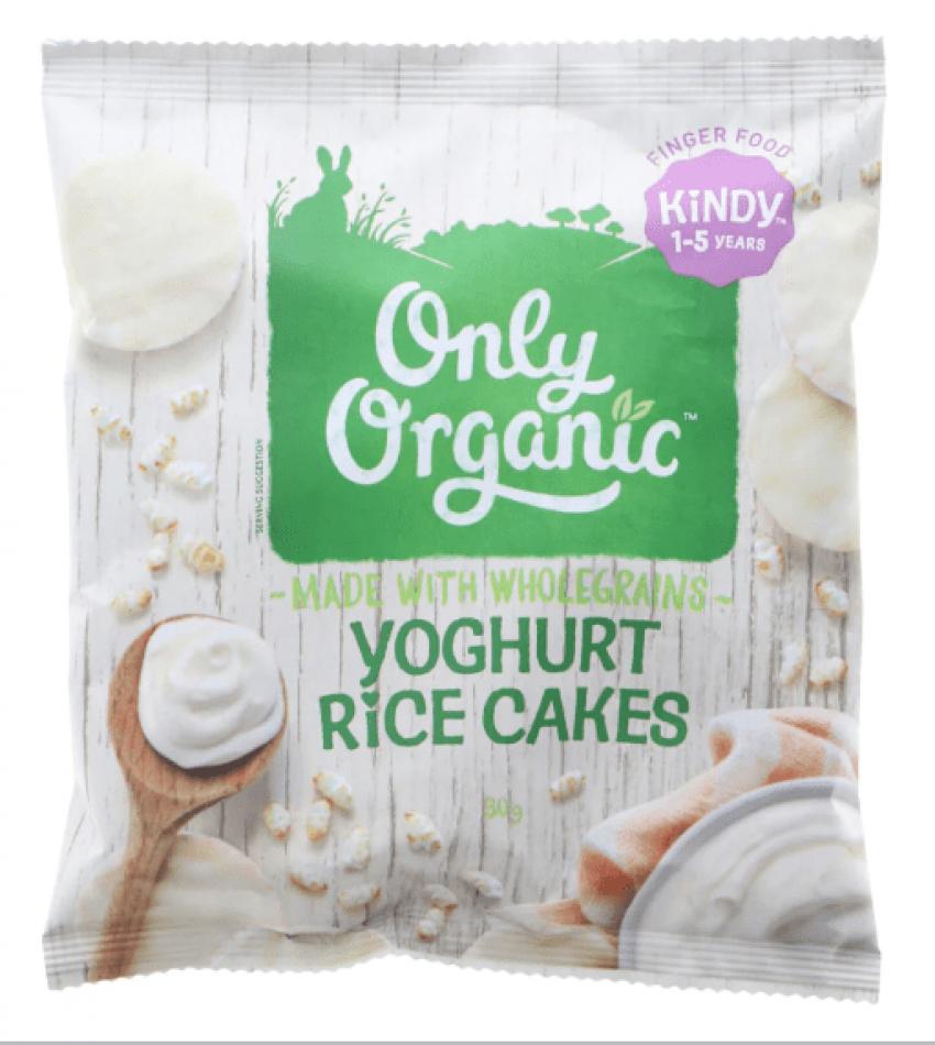 Only Organic 酸奶米饼 30g(适合1-5岁)