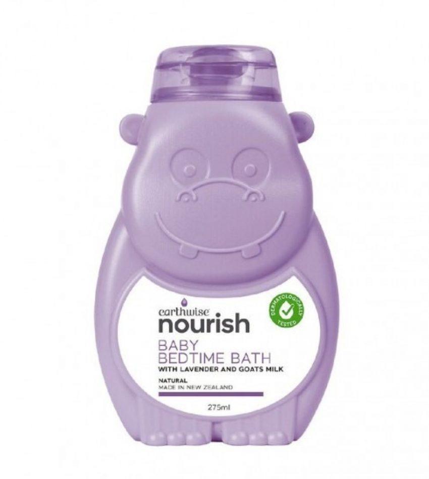Earthwise Baby Bedtime Bath 275ml 小河马 婴儿睡前沐浴露 275ml