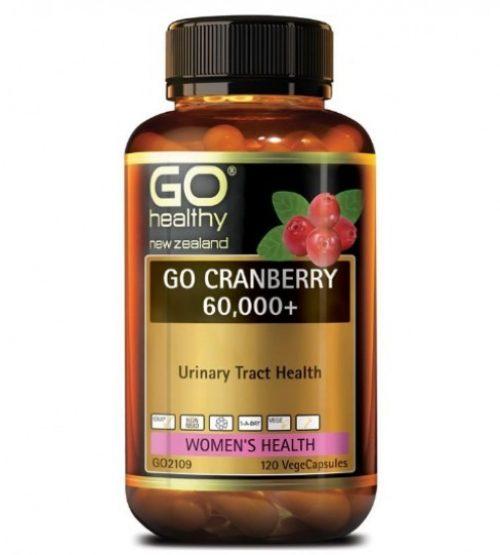 Go Healthy Cranberry 60000 120s 高之源蔓越莓胶囊120粒(24年中到期)